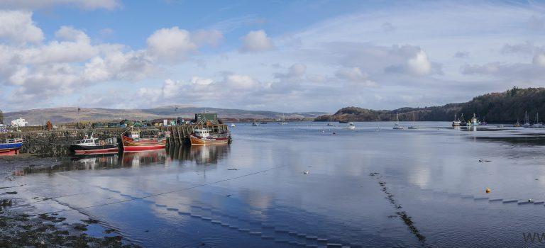 De opkomst van Tobermory – Isle of Mull
